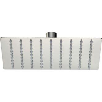 Rociador de ducha  cuadrado 20 x 20 cm extraplano antical