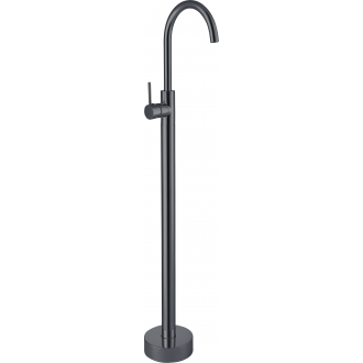 Grifo de lavabo totem / bañera  en negro mate monomando