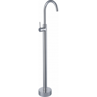 Grifo totem independiente a suelo alto bañera / lavabo monomando cromado