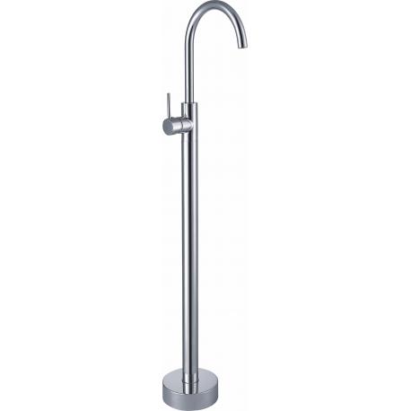 Grifo independiente a suelo alto bañera / lavabo monomando cromado