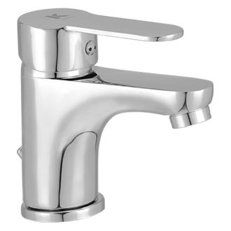 Grifo de lavabo monomando cromado serie Omnia