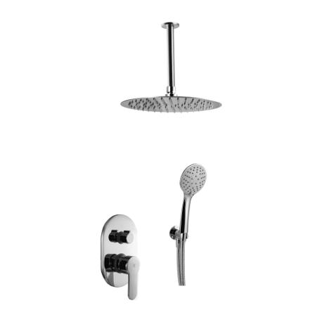 Conjunto de ducha empotrado serie Omnia