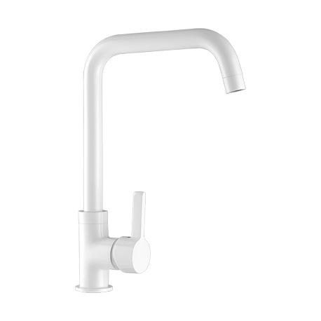 Grifo de cocina monomando vertical blanco serie Momo