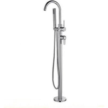 Grifo de bañera termostatico autoportante independiente pie a suelo