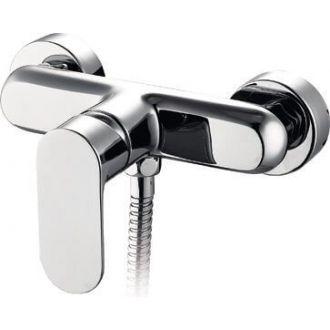 Grifo de ducha monomando cromo serie Turia